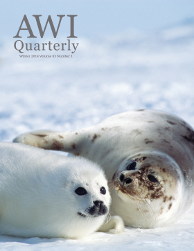 Winter 2014 AWI Quarterly Cover - Photo by Michio Hoshino/Minden Pictures