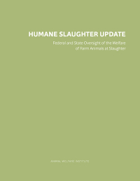 Humane Slaughter Update